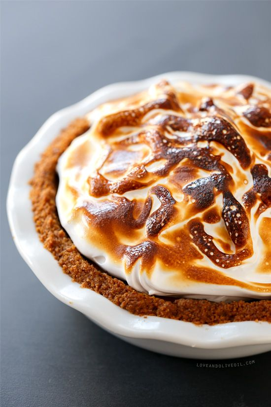 S'Mores Pumpkin Pie: Toast Marshmallows, Chocolates Ganache, Pumpkin Recipes, Pumpkin Desserts, Pies Desserts, Thanksgiving Favorite, Fall Recipes, S More Pumpkin, Pumpkin Pies