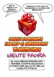 www.bbnientepaura.com Italian forum for B&B owners