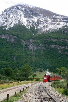 El tren del Fin del Mundo, Ushuaia en Argentina