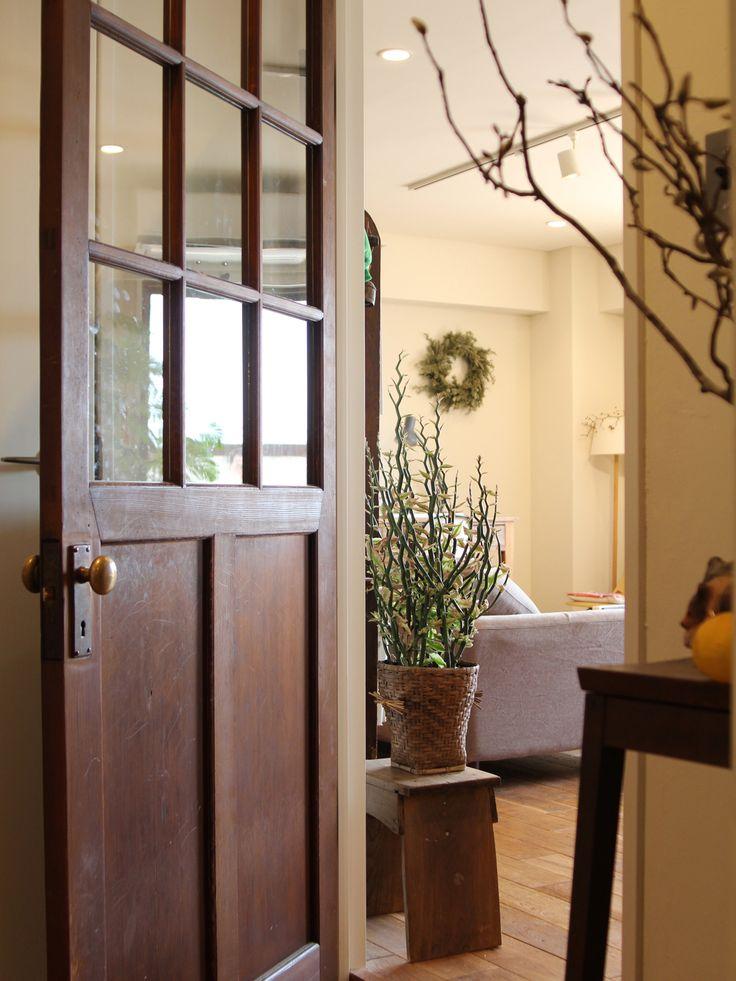 DOOR / closet/ドア/ クローゼット/ 取っ手/ドアノブ/ 古家具/建具/リノベーション/フィールドガレージ/ FieldGarage Inc.