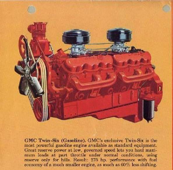GMC's 702 ci V12  | Gmc trucks | Chevy trucks, Truck engine