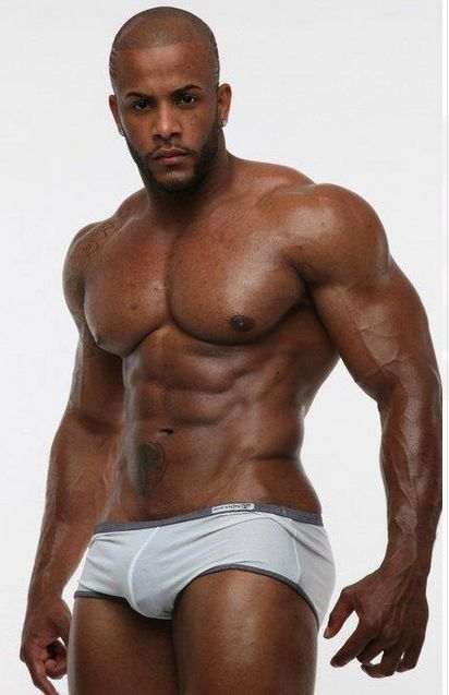 Muscly Black Dude And Whitey