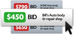 Body Shop Bids - Get auto repair estimates by photo from the best body shops in town.