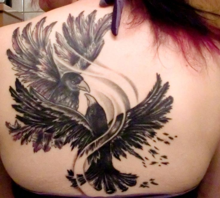 celtic crow tattoo | Crow Tattoos – Designs and Ideas