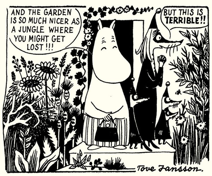 Moomin in North America — Laura Farmer