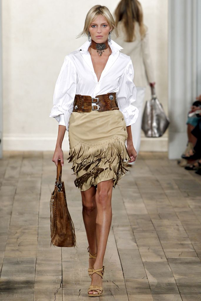 Ralph Lauren Spring 2011 Ready-to-Wear Collection Slideshow on Style.com
