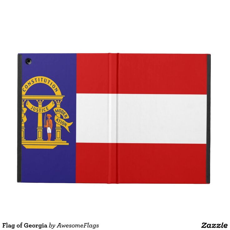 Flag of Georgia iPad Air Cover
