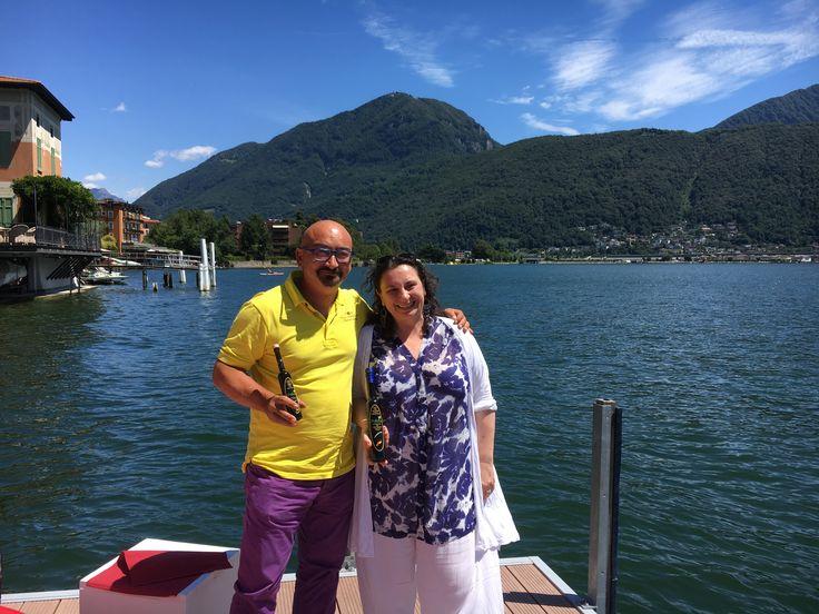 Lo scorso fine settimana, nei pressi di Lugano, abbiamo avuto il grande piacere di conoscere Benedos Vini. A presto grandi novità!