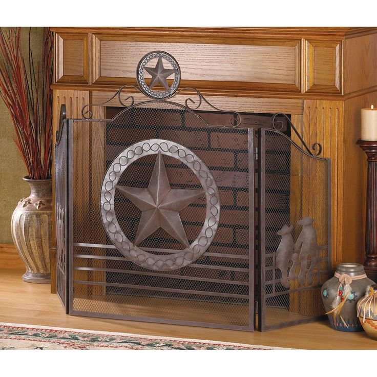 Lone star fireplace screen - 17 Best Ideas About Rustic Fireplace Screens On Pinterest Diy