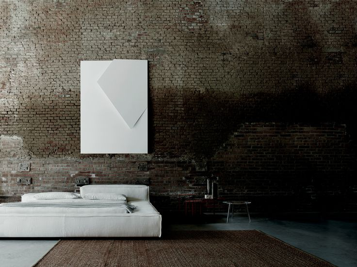 Extrasoft bed design Piero Lissoni for Living Divani