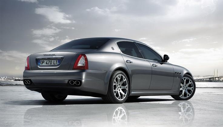 Maserati Quattroporte Luxury Sedan