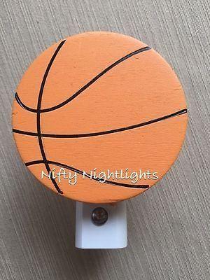 Nursery Night Light - Night Light, Basketball Auto On/Off Sensor