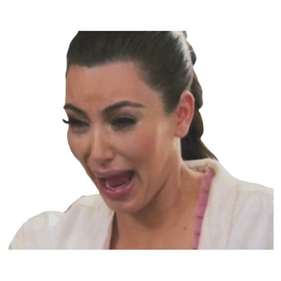 Kim Kardashian Crying by sailorlolita