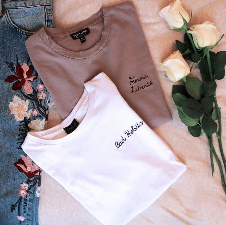 Get your holiday wardrobe ready with these slogan tees.