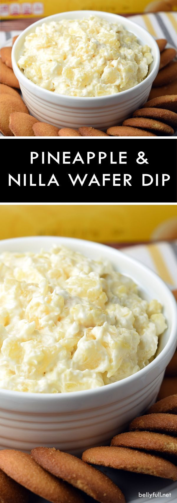 Pineapple Nilla Dip Pineapple Nilla Dip - this sweeten and refreshing dip calls for only five elements and 10 minutes of your time. Great for parties!