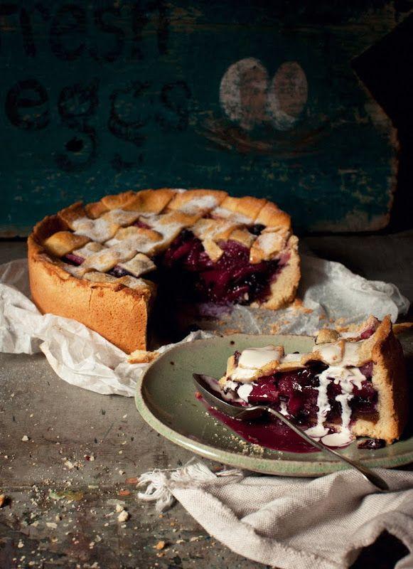 yummyinmytumbly: Apple, ginger & blueberry...