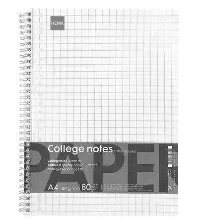 collegeblok A4 10 mm ruit - HEMA