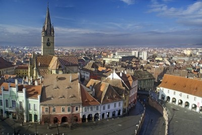 Medical Tourism in  Romania. Aerial view of medieval city Sibiu - in Transylvania, Romania.  http://www.intermedline.com/services/medical-tourism-romania-travel/travel-in-romania#.Urd6_PQW3sk  #medicaltourisminRomania, #medicaltravelinRomania, #medicalholidaysinRomania, #medicaltourism, #medicaltravel, #medicalholidays,   #travelRomania, #toursinRomania #sightseeingRomania  CONTACT NOW! office@intermedline.com; Phone: 1 518 620 42 25