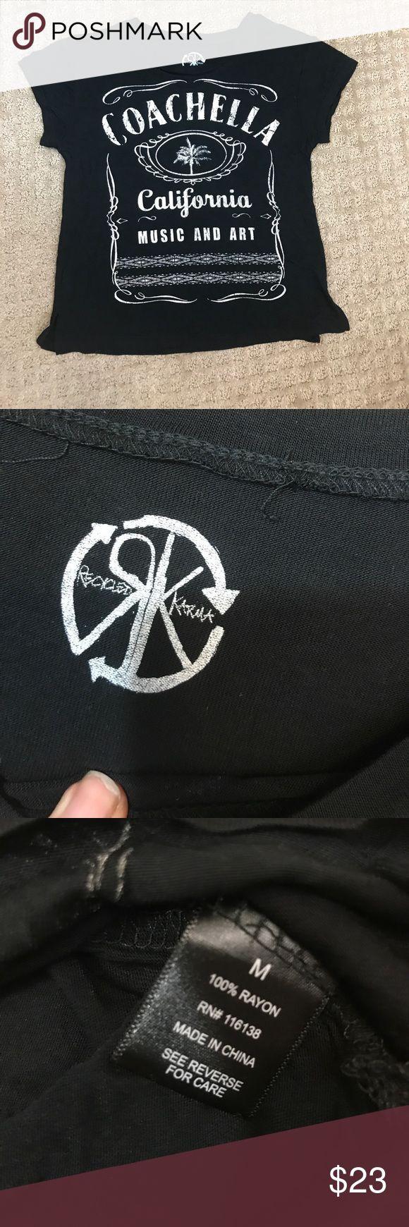Coachella California Music Art Festival Shirt M Gently worn no flaws Recycled Karma Tops Tees - Short Sleeve