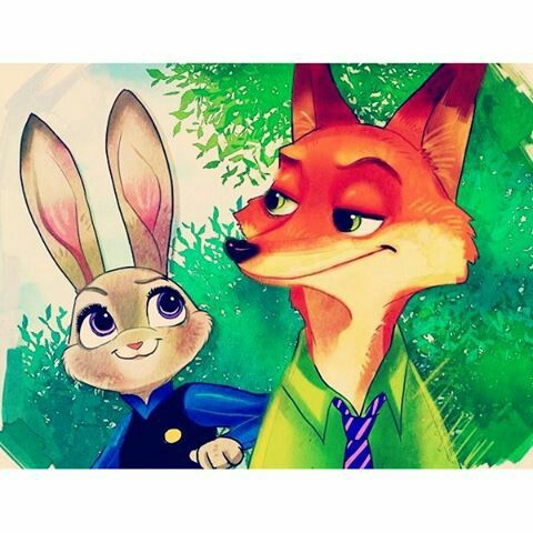 Awesome Nick and Judy ♡