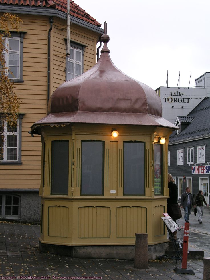 Norway street kiosk