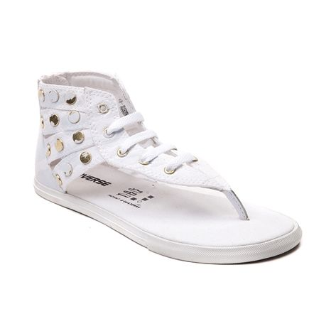 Shop for Converse Chuck Taylor Gladiator Sneaker in White Gold at Journeys  Shoes.