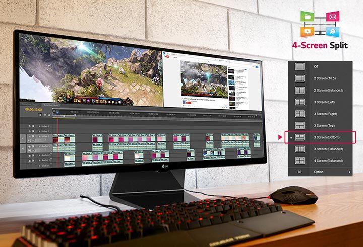 "LG 29"" Ultrawide Monitor"
