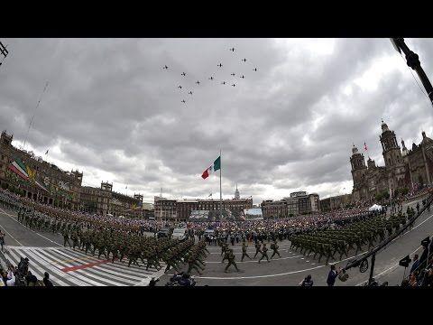 Desfile Militar Conmemorativo de la Independencia de México - YouTube