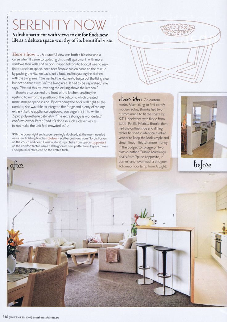 Australian Home Beautiful Pg 2 Brooke Aitken Design
