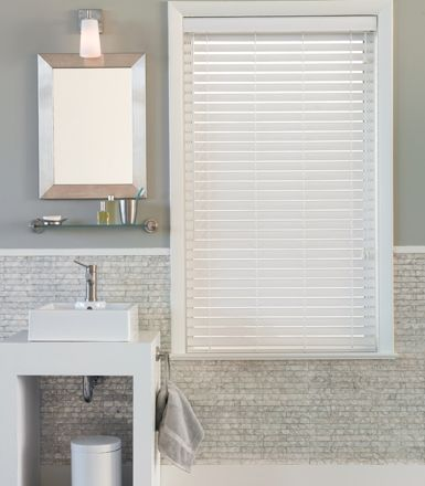 Gentil Privacy And Light Are Big Issues When Choosing Bathroom Window Treatments