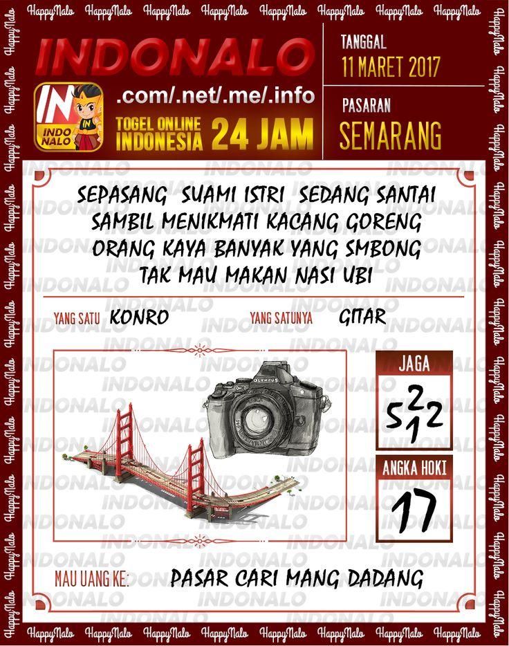 Kode Alam 3D Togel Wap Online Indonalo Semarang 11 Maret 2017