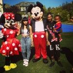 Blac Chyna And Tyga Celebrate Son's 1st Birthday With The Kardashians And Lola Monroe