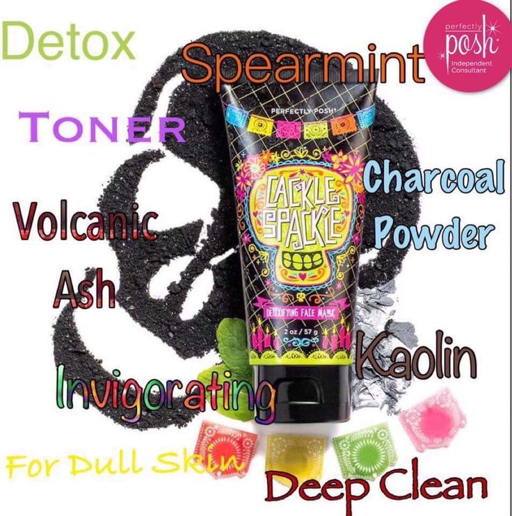 perfectly posh crackle spackle face mask. great for detoxing the skin for revival of soft beautiful skin.  https://StarlitePosh.po.sh/products