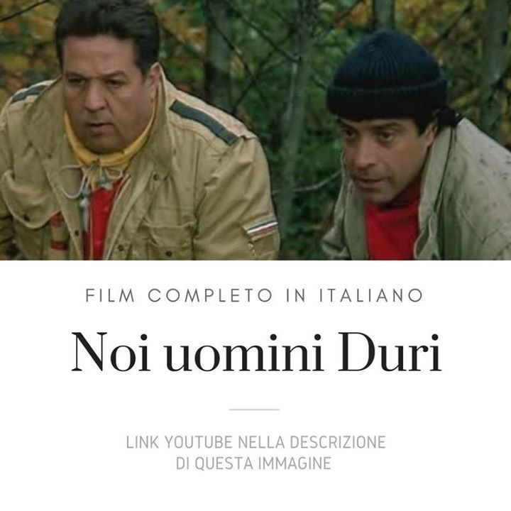 Noi Uomini Duri - Film Completo https://www.youtube.com/watch?v=KbthX2m_X0I&list=PLXaYyxQb69ea3Pey-WsqT1_cT_QxLxahU Condividi sul diario per guardare più tardi. #Film #FilmCompleti #Documentari