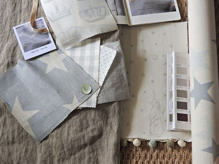 Fabrics and wallpaper by Peony & Sage, available from Victoria Clark…