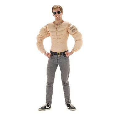 Bodybuilder kostuum voor volwassenen  Ga verkleed als gespierde bodybuilder.  EUR 23.99  Meer informatie
