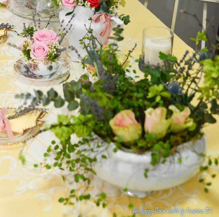 table centerpiece,table decor, flowers, floral arrangements, aranjamente florale, decor