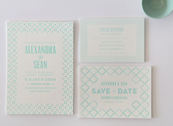 Best Letterpress Wedding Invitations: 35 Best Foil Stamping Images On Pinterest