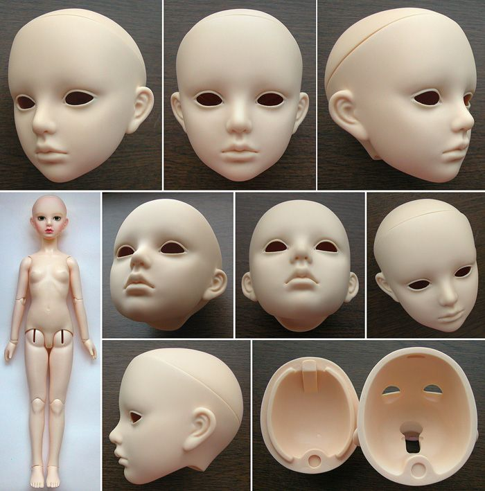 Alice(large)/blank head - Alice in Labyrinth