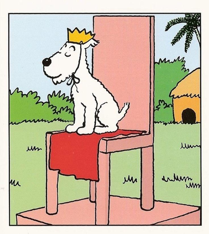 Vive le roi! Hergé