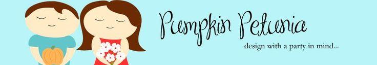 pumpkin petunia; design with a party in mind...