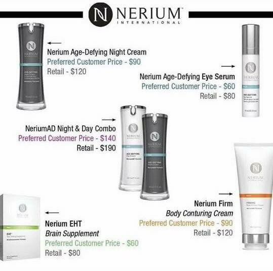 Nerium Pricing.....www.hrichardson.nerium.com