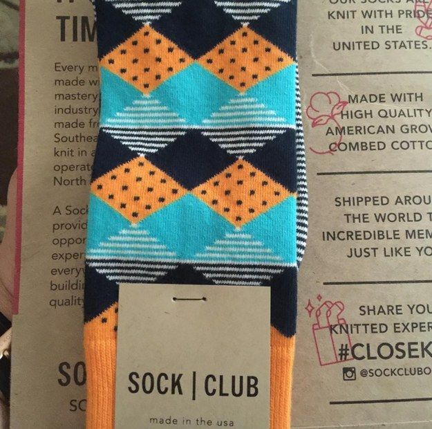 Sock Club, $12 | 17 Gorgeous Subscription Boxes Stylish People Will Love