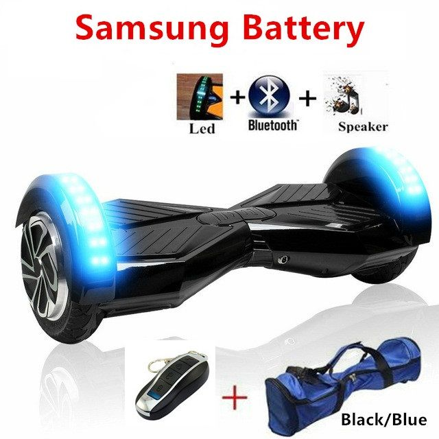 8 inch hoverboard skateboard electric scooter 2 wheel electric standing scooter bluetooth balance board electric skate overboard //Price: $274.60//     #storecharger