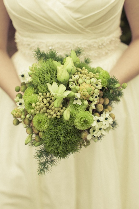 """Lime Bridal Bouquet. From the """"Bright Limes"""" wedding color inspiration board. For more Bright Lime wedding inspiration visit our COLORFUL vendor party as well as our blog this Saturday, May 4th. http://brilliantbridalaz.com/2013/04/colorful-a-vendor-party-at-brilliant-bridal/"""