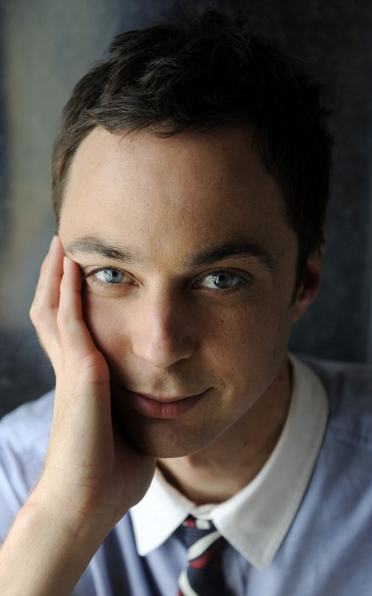 Jim Parsons - blue eyes!