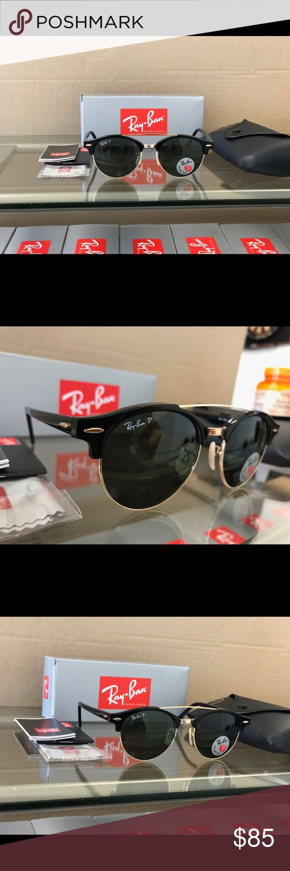 Authentic Polarized Ray-Ban Round Metal Sunglasses Get yourself a beautiful pair of brand new Polarized Ray-Ban sunglasses for 65% off retail price! Please refer to the details below to get a better idea of what you are purchasing:  •These are 100% Brand
