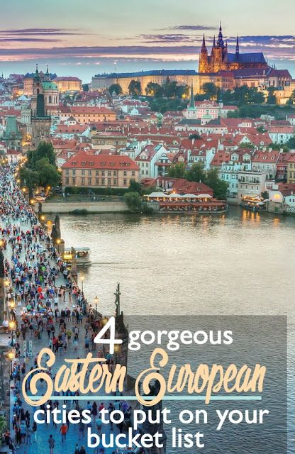 4 Gorgeous Eastern European Cities to Put on Your Bucket List | CosmosMariners.com