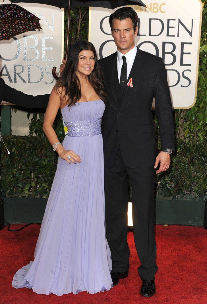 Pin for Later: Flashback to When These Famous Couples Went Public For the First Time Fergie and Josh Duhamel in 2010