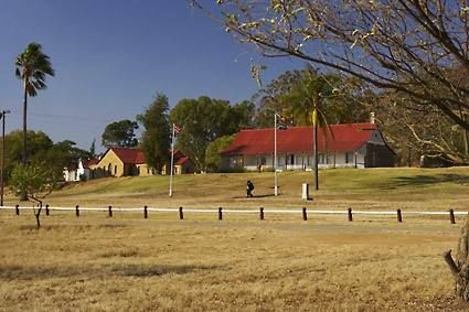 Rorke's Drift, site of a fierce battle during the Anglo Zulu War of 1879. Near Dundee. kwaZulu-Natal. South Africa